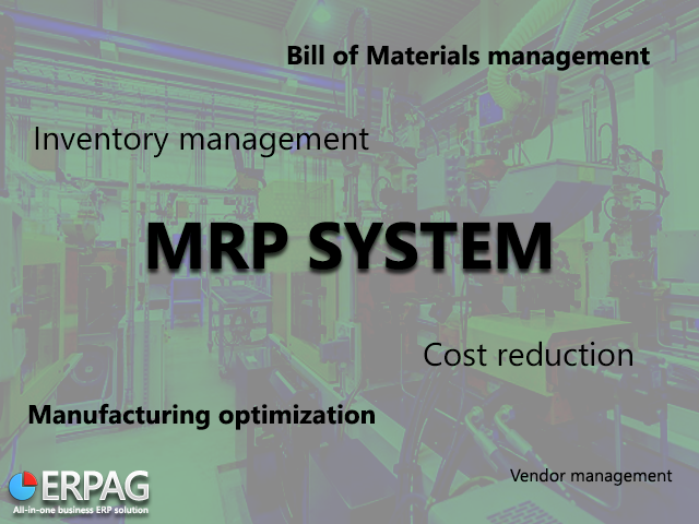 Functions of the MRP system