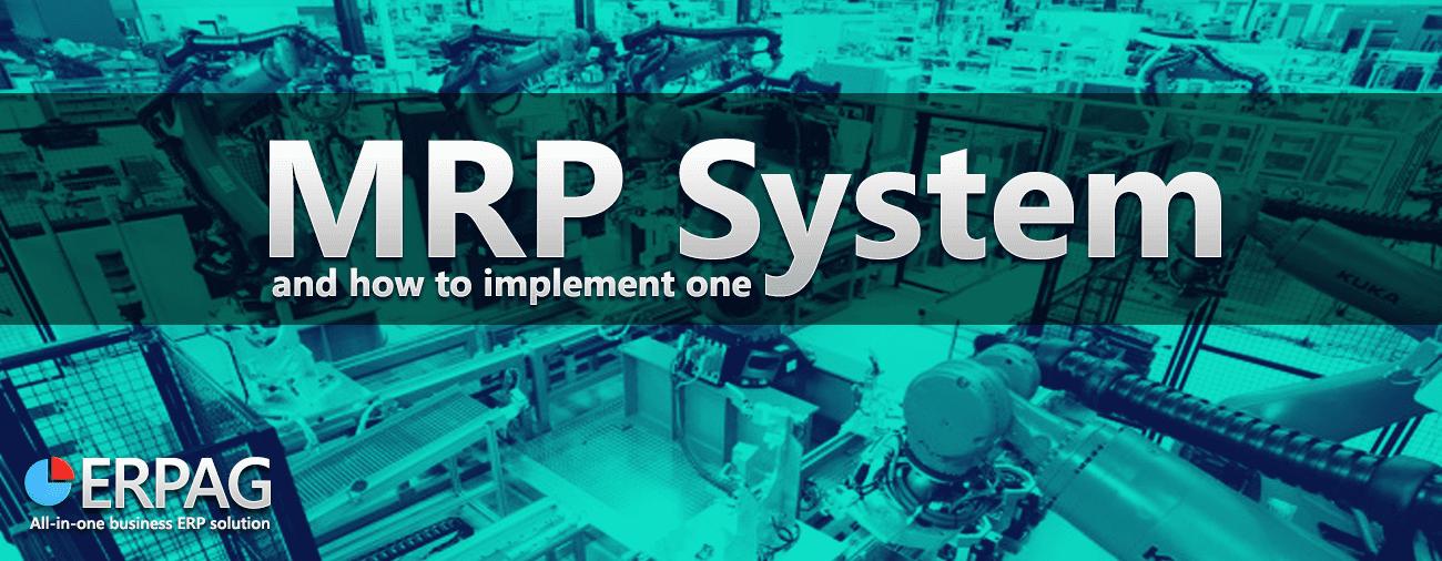 MRP-system