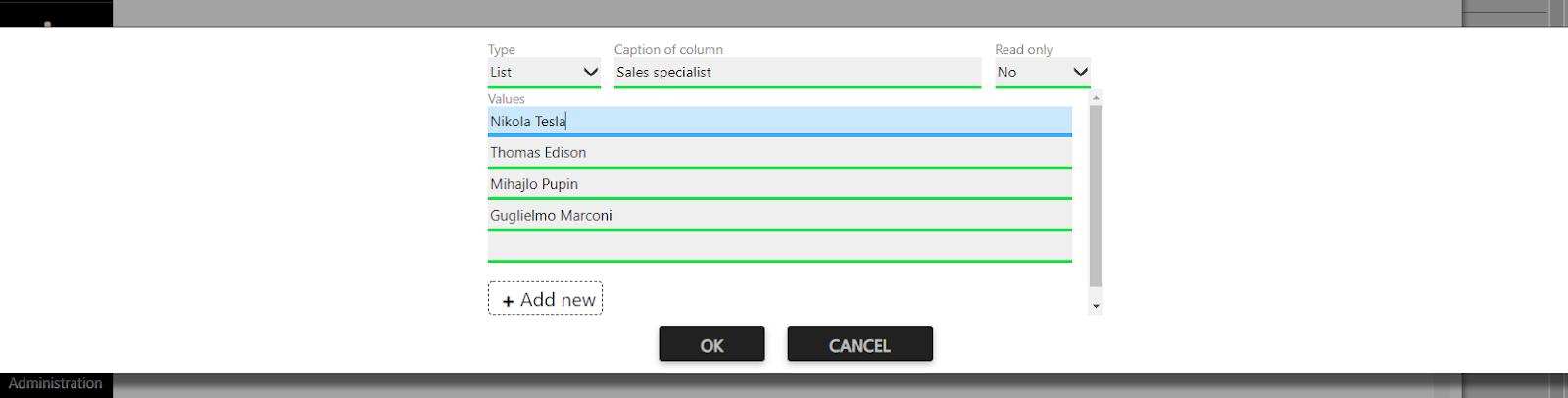 custom field sales representatives